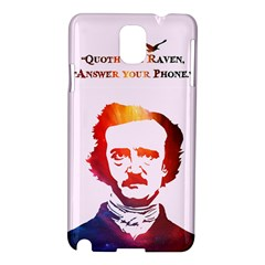 Qouth the Raven...Answer Your Phone (In Color). Samsung Galaxy Note 3 N9005 Hardshell Case