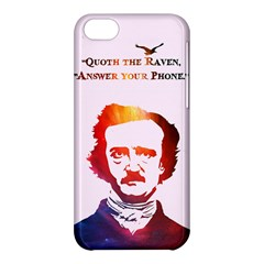 Qouth The Raven   Answer Your Phone (in Color)  Apple Iphone 5c Hardshell Case