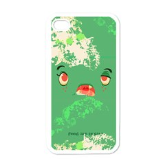 Feed Me Brains    Er, I Mean Texts! Apple Iphone 4 Case (white)