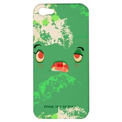 Feed Me Brains    Er, I Mean Texts! Apple Iphone 5 Hardshell Case