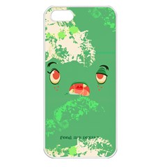 Feed Me Brains    Er, I Mean Texts! Apple Iphone 5 Seamless Case (white)