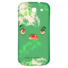 Feed Me Brains....er, I Mean Texts! Samsung Galaxy S3 S III Classic Hardshell Back Case