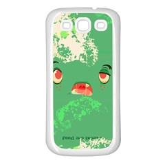 Feed Me Brains    Er, I Mean Texts! Samsung Galaxy S3 Back Case (white)
