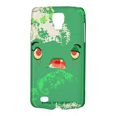 Feed Me Brains....er, I Mean Texts! Samsung Galaxy S4 Active (I9295) Hardshell Case