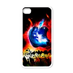 Its an Apple World Apple iPhone 4 Case (White)
