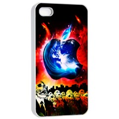 Its an Apple World Apple iPhone 4/4s Seamless Case (White)