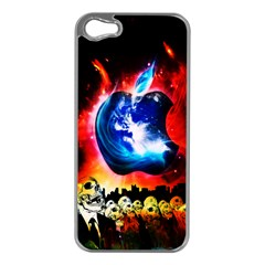 Its An Apple World Apple Iphone 5 Case (silver)
