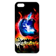 Its An Apple World Apple Iphone 5 Seamless Case (black)