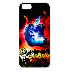 Its An Apple World Apple Iphone 5 Seamless Case (white)