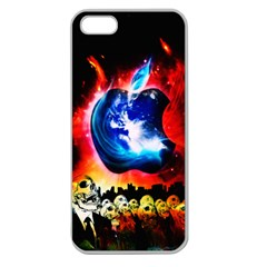 Its an Apple World Apple Seamless iPhone 5 Case (Clear)