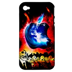 Its an Apple World Apple iPhone 4/4S Hardshell Case (PC+Silicone)
