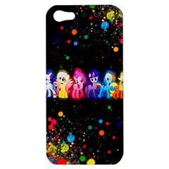 Ponies Apple Iphone 5 Hardshell Case