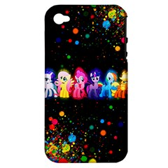Ponies Apple iPhone 4/4S Hardshell Case (PC+Silicone)