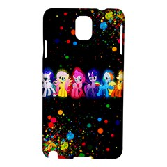 Ponies Samsung Galaxy Note 3 N9005 Hardshell Case