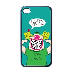 Happy Case Apple Iphone 4 Case (black)