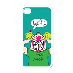 Happy Case Apple iPhone 4 Case (White)