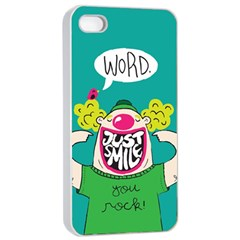 Happy Case Apple Iphone 4/4s Seamless Case (white)