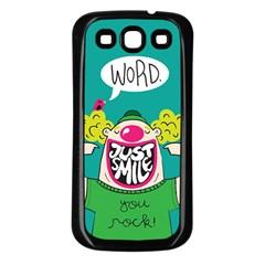 Happy Case Samsung Galaxy S3 Back Case (Black)