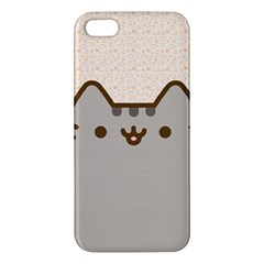 Cute Cat iPhone 5 Premium Hardshell Case