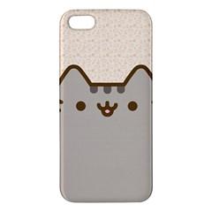 Cute Cat iPhone 5S Premium Hardshell Case