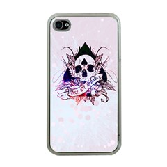 Ace Of Spades Apple Iphone 4 Case (clear)