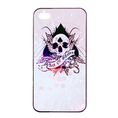 Ace Of Spades Apple Iphone 4/4s Seamless Case (black)