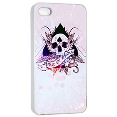 ace of spades Apple iPhone 4/4s Seamless Case (White)
