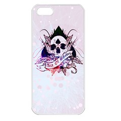 Ace Of Spades Apple Iphone 5 Seamless Case (white)