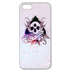 ace of spades Apple Seamless iPhone 5 Case (Clear)