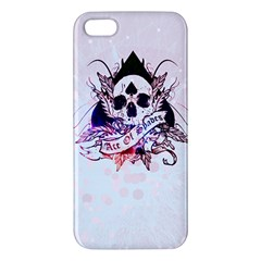 ace of spades iPhone 5S Premium Hardshell Case