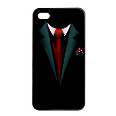 all dressed up and no one to call Apple iPhone 4/4s Seamless Case (Black)