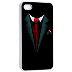 All Dressed Up And No One To Call Apple Iphone 4/4s Seamless Case (white)