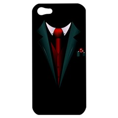 all dressed up and no one to call Apple iPhone 5 Hardshell Case