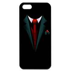 all dressed up and no one to call Apple iPhone 5 Seamless Case (Black)
