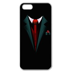all dressed up and no one to call Apple Seamless iPhone 5 Case (Clear)