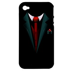 all dressed up and no one to call Apple iPhone 4/4S Hardshell Case (PC+Silicone)