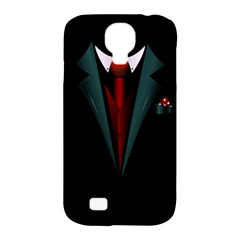 all dressed up and no one to call Samsung Galaxy S4 Classic Hardshell Case (PC+Silicone)