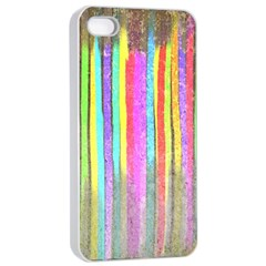 Dripping Apple iPhone 4/4s Seamless Case (White)