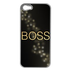 BOSS Apple iPhone 5 Case (Silver)