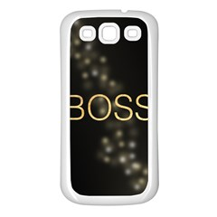 Boss Samsung Galaxy S3 Back Case (white)