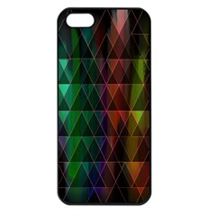 Color Apple iPhone 5 Seamless Case (Black)
