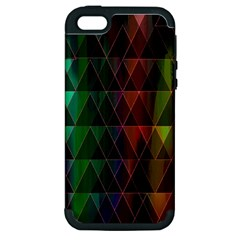 Color Apple Iphone 5 Hardshell Case (pc+silicone)