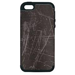ROUGH USE Apple iPhone 5 Hardshell Case (PC+Silicone)