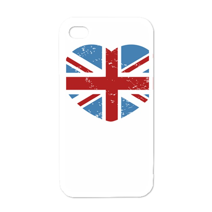 UNION LOVE VINTAGE CASE  Apple iPhone 4 Case (White)
