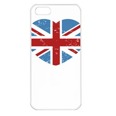 Union Love Vintage Case  Apple Iphone 5 Seamless Case (white)