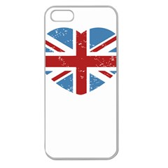 UNION LOVE VINTAGE CASE  Apple Seamless iPhone 5 Case (Clear)