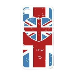 UNION LOVE VINTAGE CASE DESIGN Apple iPhone 4 Case (White)