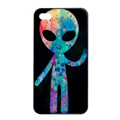 Greetings From Your Phone Apple Iphone 4/4s Seamless Case (black)