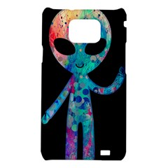 Greetings from your phone Samsung Galaxy S II i9100 Hardshell Case