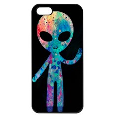 Greetings from your phone Apple iPhone 5 Seamless Case (Black)